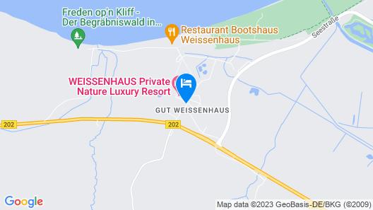 Weissenhaus Grand Village Resort & SPA Map