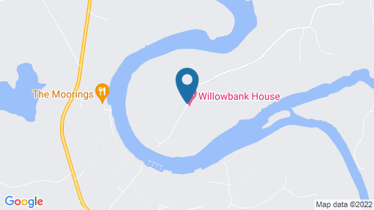 WILLOWBANK HOUSE Map