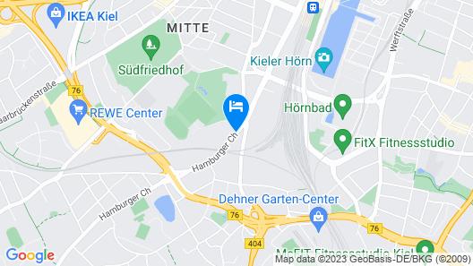 Hotel Kiel by Golden Tulip Map