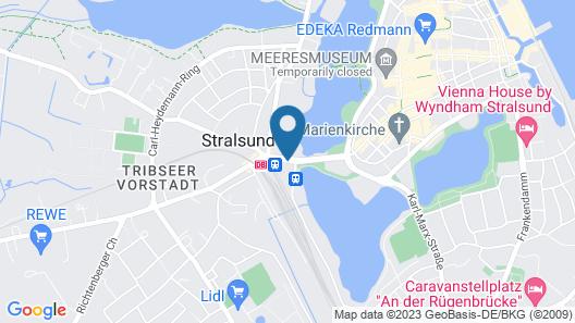 IntercityHotel Stralsund Map