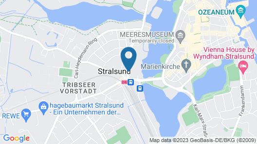 Hotel Am Jungfernstieg Map