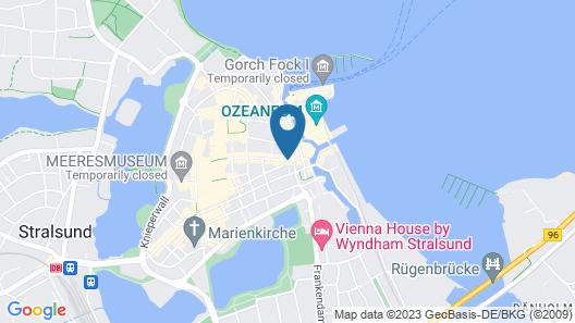 Hotel Amber Altstadt Stralsund Map