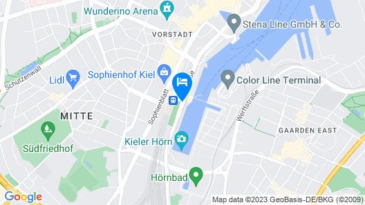 IntercityHotel Kiel Map