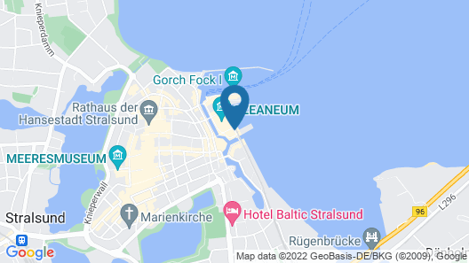 Hotel Hiddenseer Map