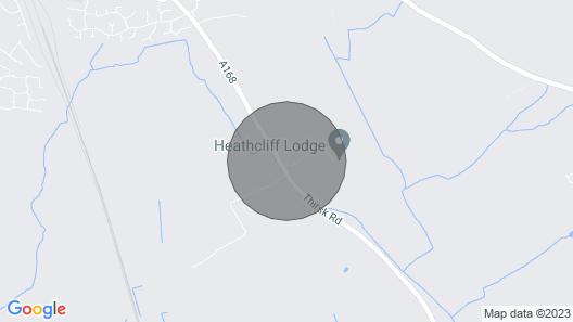 Cornfield Lodge Map