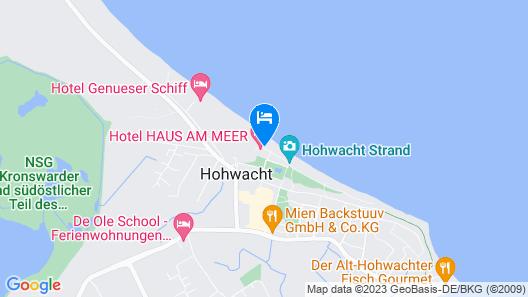 Hotel Haus am Meer Map