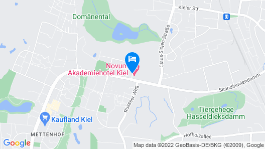 Novum Akademiehotel Kiel Map