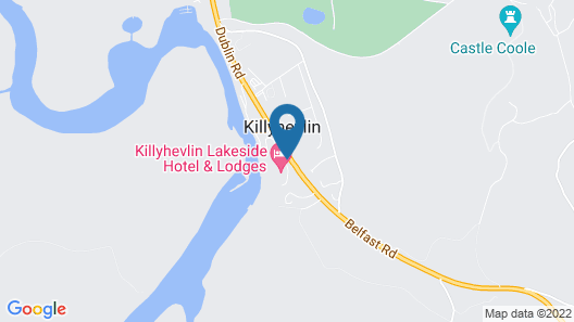 Killyhevlin Lakeside Hotel & Lodges Map