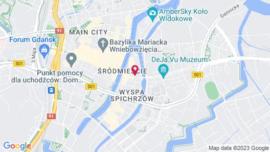 Puro Gdańsk Stare Miasto Map