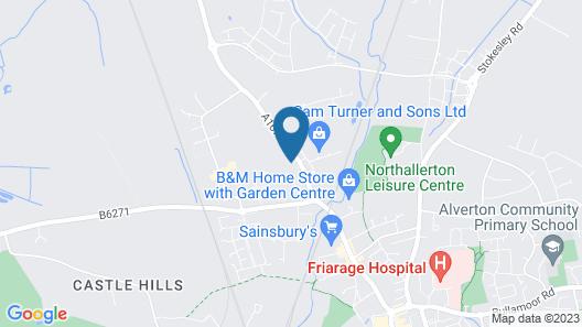 Allerton Court Hotel Map
