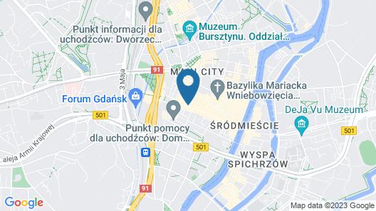 Dom & House - Apartments Dluga Gdansk Map