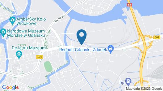 Hotel Focus Gdansk Map