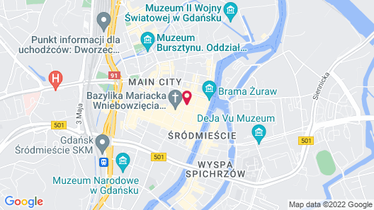 Sweet Suite Apart Map