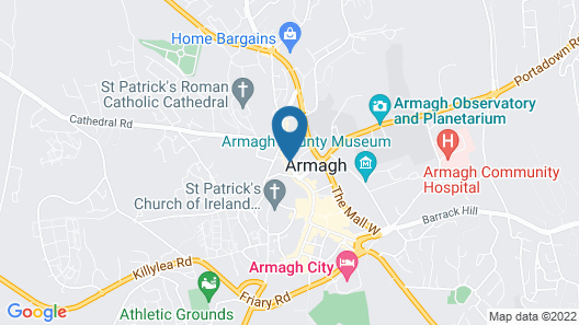 Charlemont Arms Hotel Map