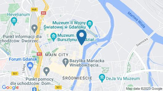 Hilton Gdansk Map