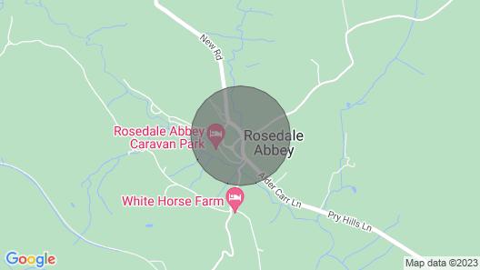 Rosella Cottage - Dog Friendly Map