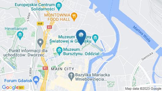 Hotel Bonum Map