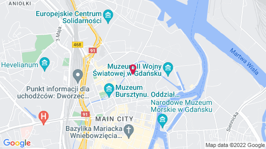Zefiro Stajenna - Near Gdańsk Crane Map