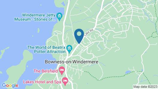 The Westmorland Inn Map