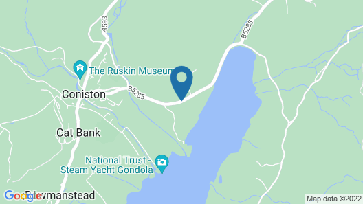 The Coniston Inn Map