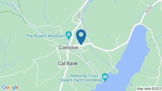 Crown Inn Coniston Map