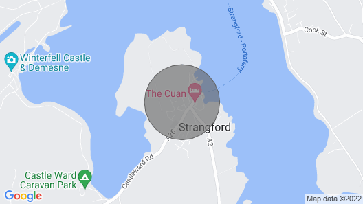 Lovely Large Detached House in Central Strangford Map