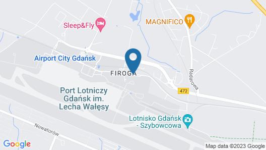 Hampton By Hilton Gdansk Airport Map