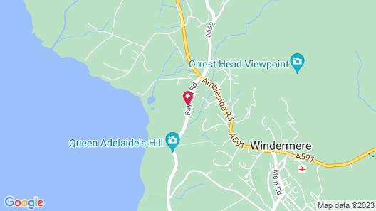 Windermere Manor Hotel Map