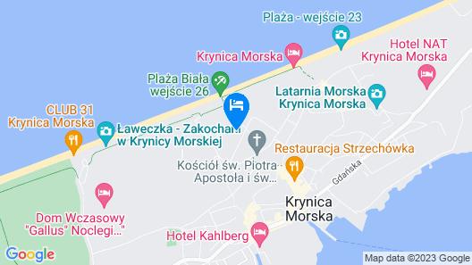 Apartamenty Sun & Snow Żeromskiego Map