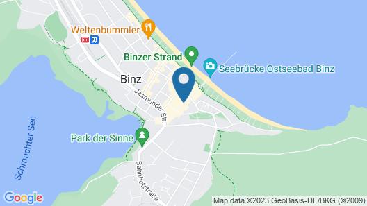 Centralhotel Binz Map
