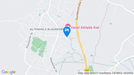 Hotel Athletik Kiel Map