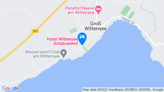 Hotel Wittensee Map
