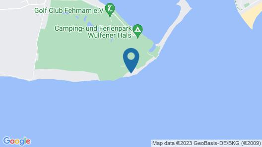 Ferienwohnungen Wulfener Hals Map