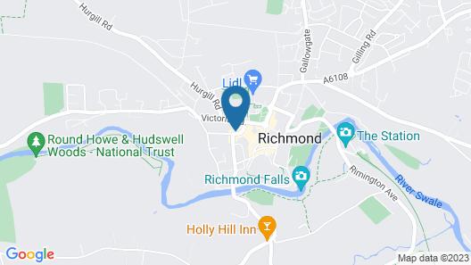 The Unicorn Richmond Map
