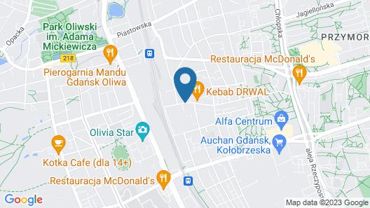 Hotel Arkon Park Business & Sport Map