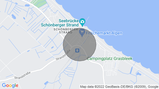 Exclusive Apartment for High Demands, Right on the Schönberger Beach Map