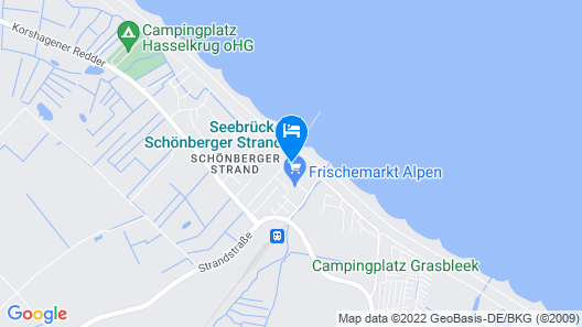 Ostseeresidenz Schönberger Strand Map