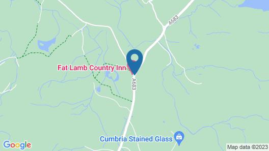 Fat Lamb Country Inn Map