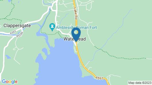 Waterhead Hotel Map