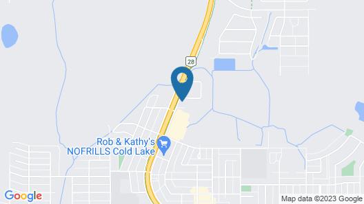 Airways Motel Map