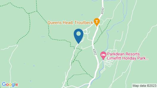 The Mortal Man Inn Map