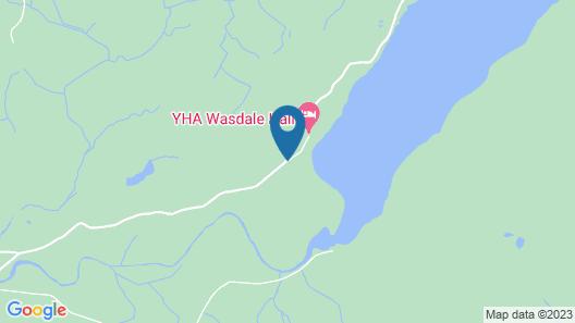 YHA Wasdale Hall - Hostel Map