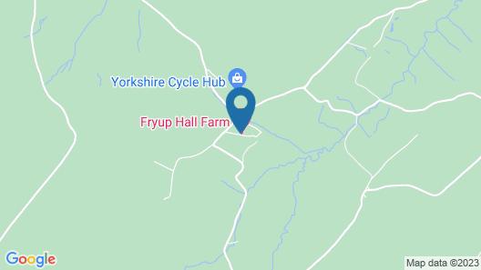 FRYUP HALL FARM Map