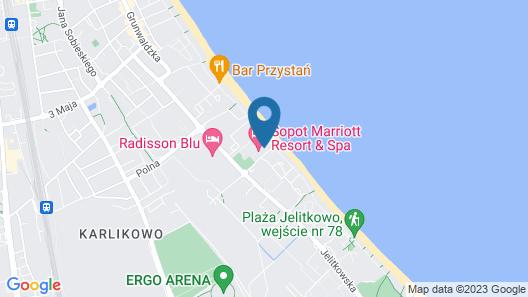 Sopot Marriott Resort & Spa Map