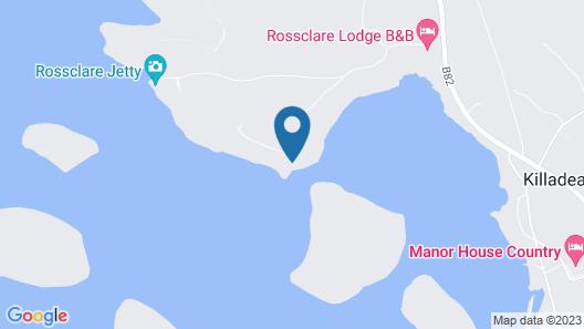 INISHCLARE COTTAGES Map