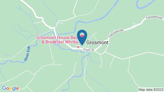 Grosmont House B&B Map