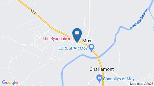 The Ryandale Inn Map