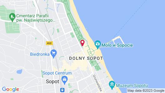 Sofitel Grand Sopot Map
