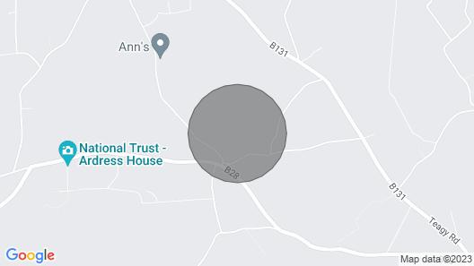 Crannagael House - Nitb 4 Stars Map