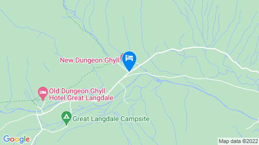 New Dungeon Ghyll Hotel Map